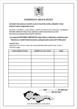 Petice ke stažení